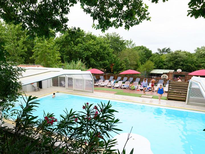 camping paradis vendee azureva piscine